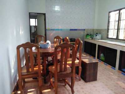 House for rent in Saraphi, 5 km. from Nong Hoi intersection,
