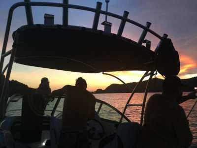 2018 Atomix Targa 600 Power Boat 150HP Mercury Outboard on Trailer