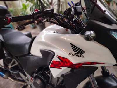 Honda 500X always serviced by Honda Bigwing