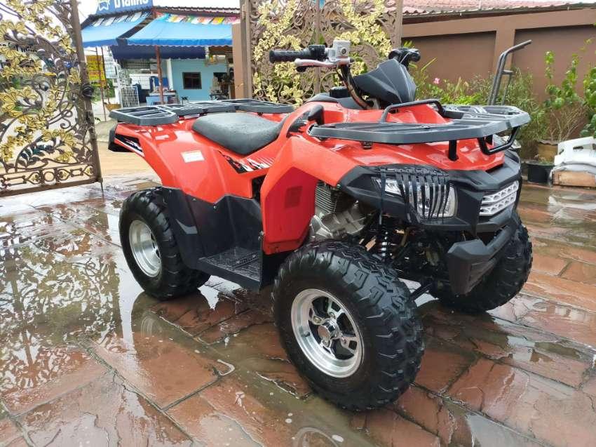 ATV K-Lion Santa 200 & Free Electric Winch