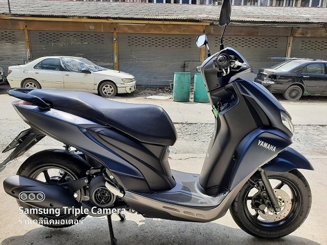 Yamaha Freego, the latest model for 2020, runs only 3174 km.