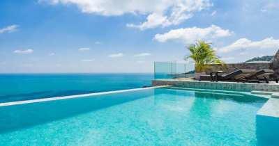 Sensational 4 Bedroom Sea View Villa in Chaweng Noi