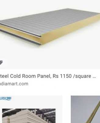 Looking For Used Pu Panels for cold room