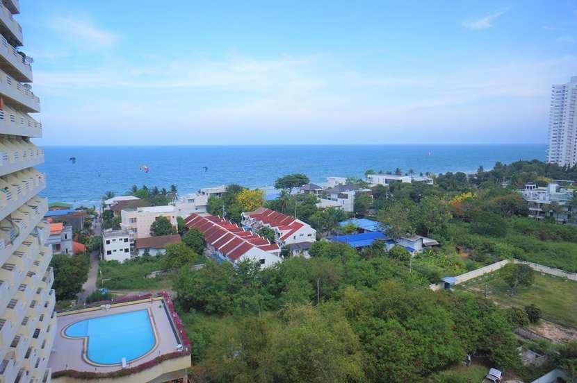 Sea view 65sqm corner condo with 3 balconies with ocean view & breeze