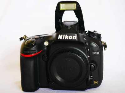 Nikon D610 Full-Frame DSLR with Low-Light Performance Body in Box