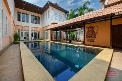 Large 6 Bed Pool Villa - Pratumnak Hill - Large Land