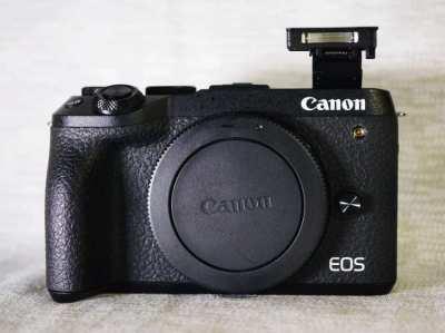 Canon EOS M6 Mark II 32.5MP Mirrorless Camera Body Black in Box