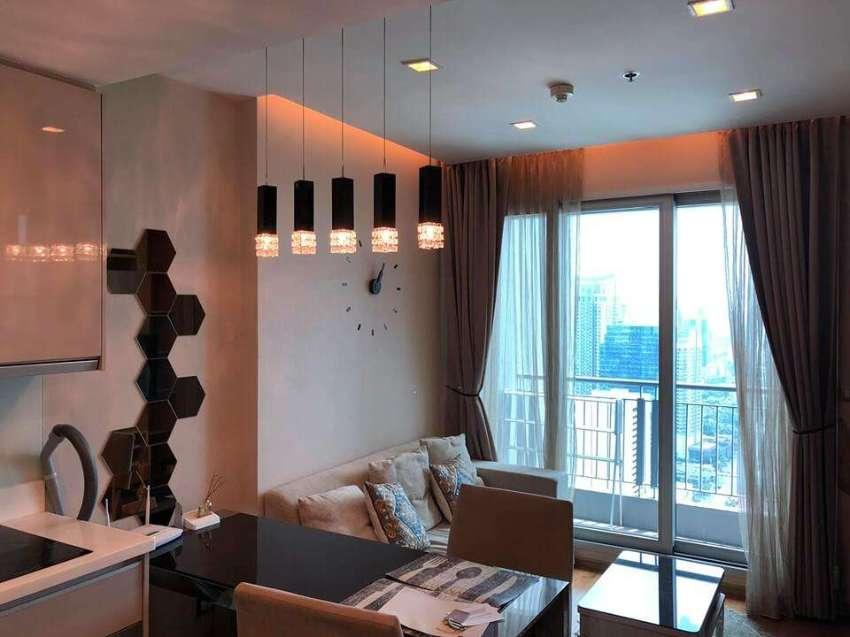 5909 Condo for rent The Address Asoke 1BR Floor 43 36 Sqm. Condo near