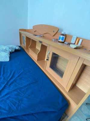 King Size Bed + Frame + Headboard | Shock Price | OBO