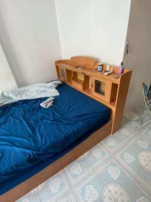 King Size Bed + Frame + Headboard   Shock Price   OBO