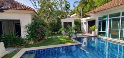 3Br Pool Villa in a quiet village.