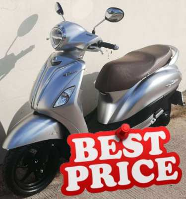 05/2020 Yamaha Grand Filano TOP ABS Keyless 44.900 ฿ Finance by shop