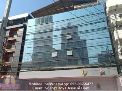 5-Storied Commercial/Office Building Near Rama 4 For RENT
