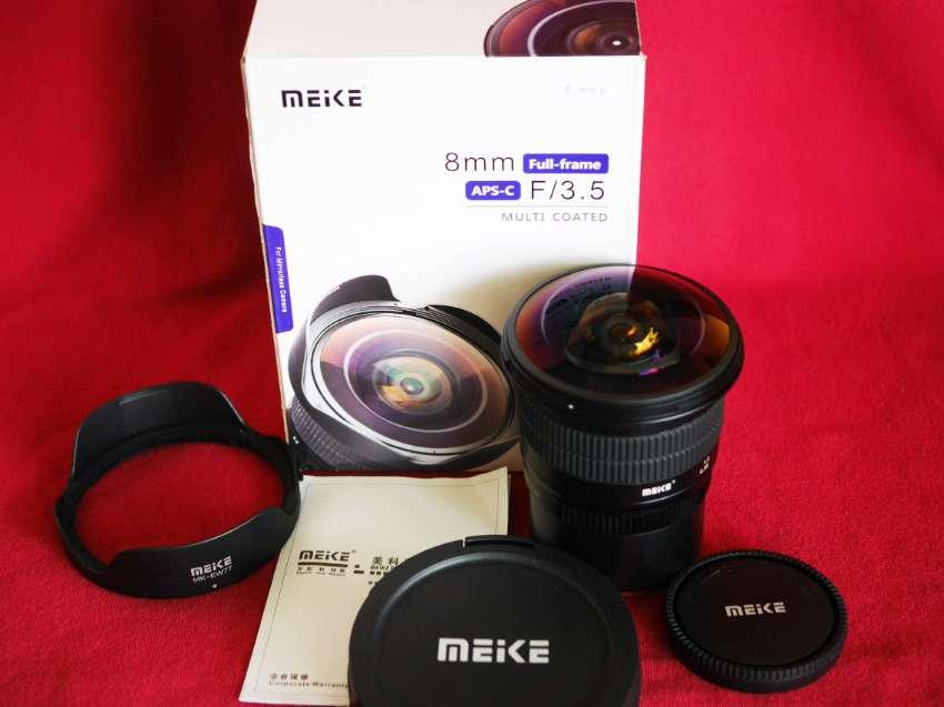 Sony E Mount Meike 8mm F/3.5 Full Frame APS-C Ultra Wide Angle Fisheye