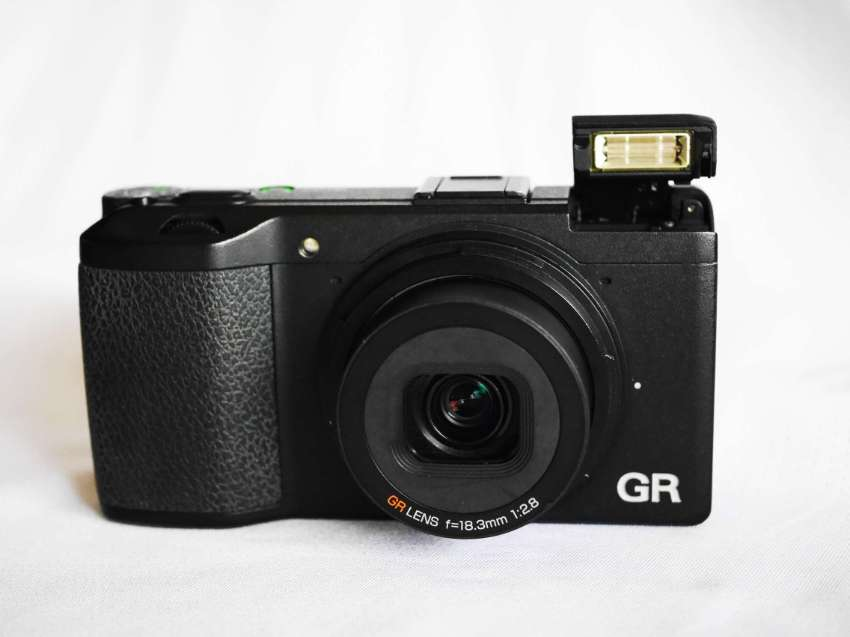 Ricoh GR APS-C 16.2MP Black High-End Compact Digital Camera in Box