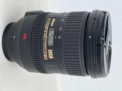 Nikon 18-200mm f/3.5-5.6 G ED AF-S VR DX Nikkor Lens