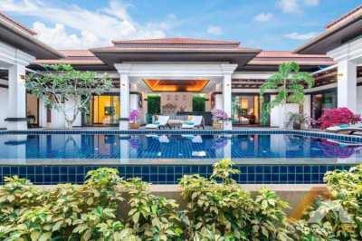 Modern bright villa near Bangtao beach