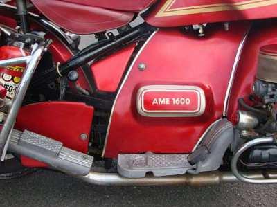 Amazonas 1600cc Volkswagen Powered Motorcycl