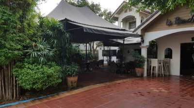 Big house and nice restaurant  for sale