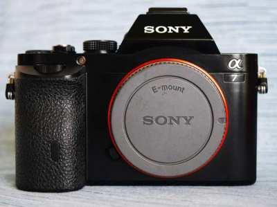Sony A7 24.3MP Wi-Fi NFC Digital Camera Body in Box