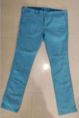 New De Fry Cotton Trousers – Size 38