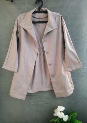 GEORGES RECH Paris Woman Coat Beige Color with removable warming pad