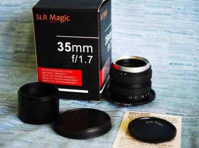 For Panasonic / Olympus SLR Magic 35mm F/1.7 Lens in Box