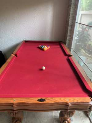 Pooltable southern legacy
