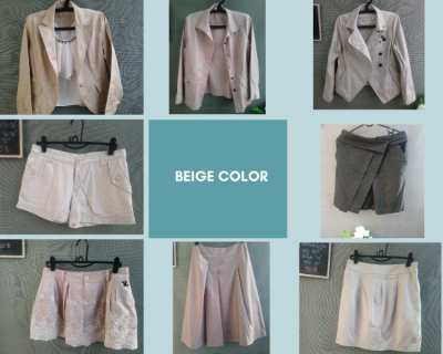 Beige Tone Color; CC Double O, Comptoir des Cotonniers and more