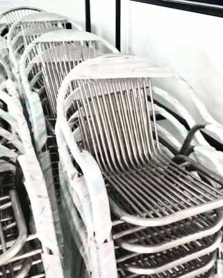 STAINLESS CHAIR NEW