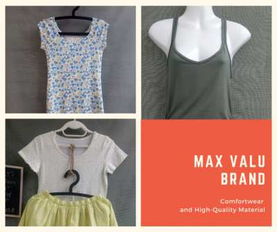Top Valu Brand, All Comfortwear and High-quality, Like New