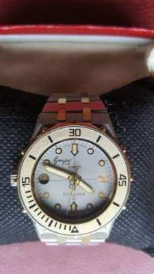 REDUCED !!! BREITLING TABARLY 81460 STEEL/GOLD 18 K - PERFECT CONDITIO