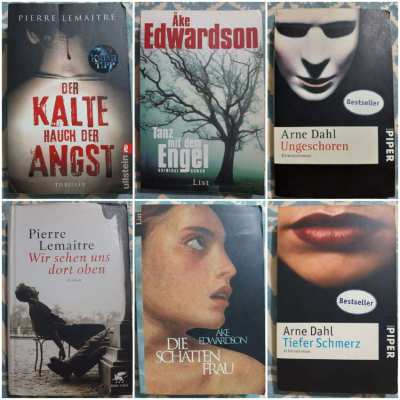 Deutsche - German Language Crime Novels