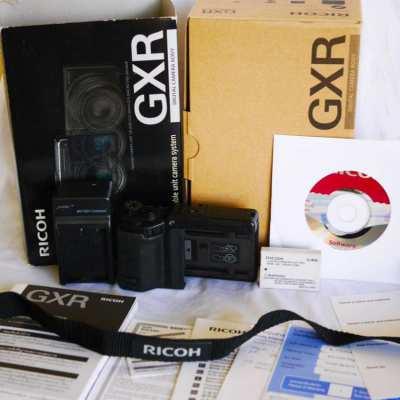 Ricoh GXR Black Body Unit Modular Digital Camera System
