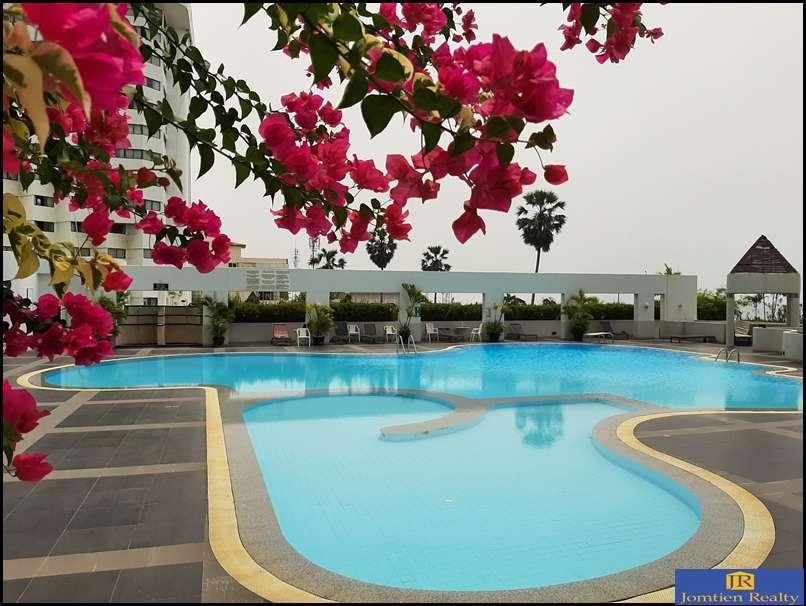 Jomtien Plaza Condotel Studio -  Sea View for Rent at Jomtien Beach