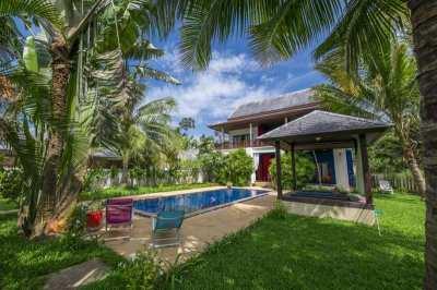 3 bedroom villa in 800 meters from beach