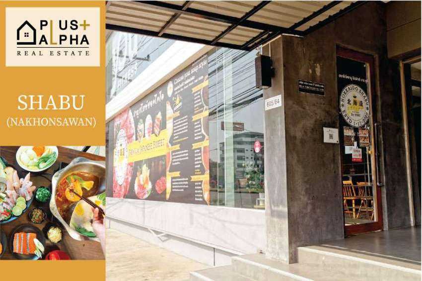 Shabu shop for sale price 800,000 baht.