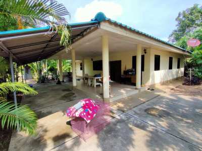 Nong Yao Home on 2 Rai Plot in Quiet Farming Community Near Bypass