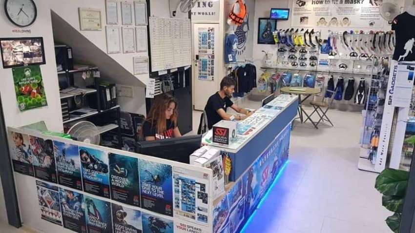 Successful & busy dive school - Looking for investor or active partner