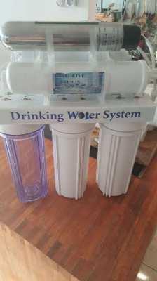 6 Stage water filteer with UV steriliser