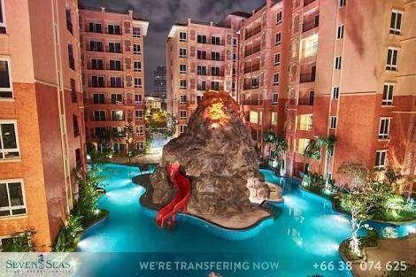 Seven Seas Condo Resort Jomtien 1BR 37 sqm for rent