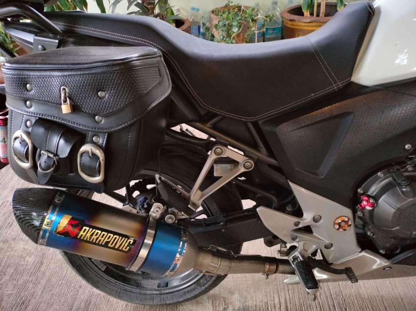 Honda 500X always serviced by Honda Bigwing