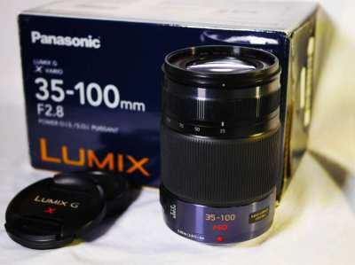 Panasonic Lumix G X Vario 35-100mm f/2.8 ASPH. POWER OIS Lens in Box