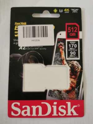 San Disk micro SD card 512 gb
