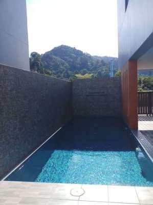 4 Bed 5 Bath Pool Villa with poolside bungalow for Sale Kamala Phuket