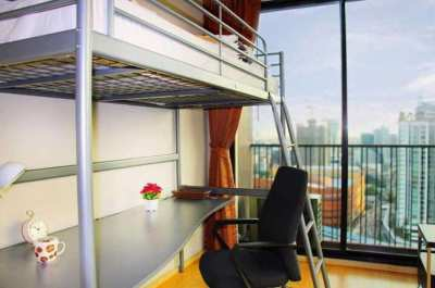 Condo for Rent 公寓出租 Noble Reveal Ekamai • 1BR + Loft • Panorama View