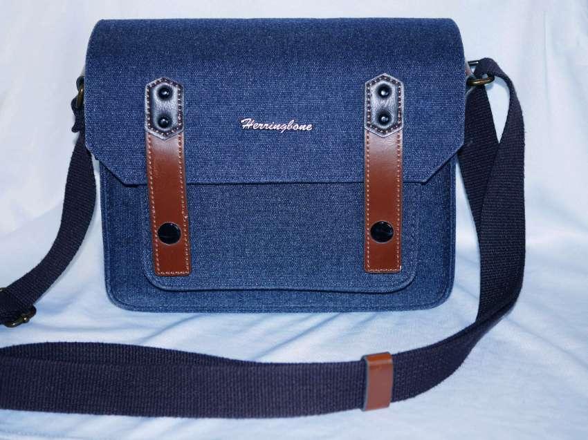 Herringbone camera bag