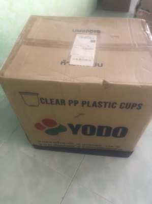 1000 Plastic cups 16 oz