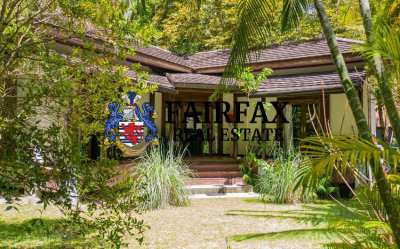 4 LUXURY VILLAS RESORT BUSINESS FOR SALE IN KOH PHANGAN
