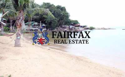 BEACH FRONT RESORT FOR SALE IN WOK TUM KOH PHANGAN